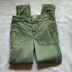 J. Crew skinny ankle jeans green size 4?